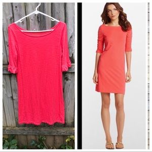 Lilly Pulitzer Kaleb Dress coral cute cotton! S
